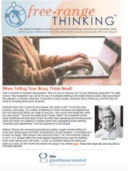 free-range thinking